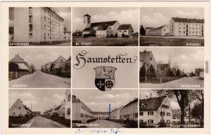 Haunstetten Augsburg Straßen-Ansichten Egerländerstr. Eichenstr.