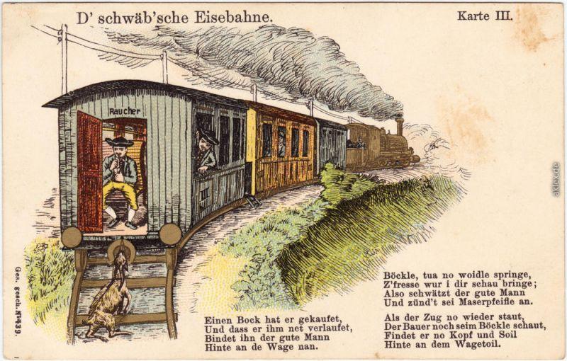 auf der schwäbischen eisenbahn