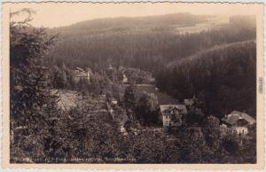 Bärenburg Altenberg (Erzgebirge) Blick auf die Schäfermühle 1930