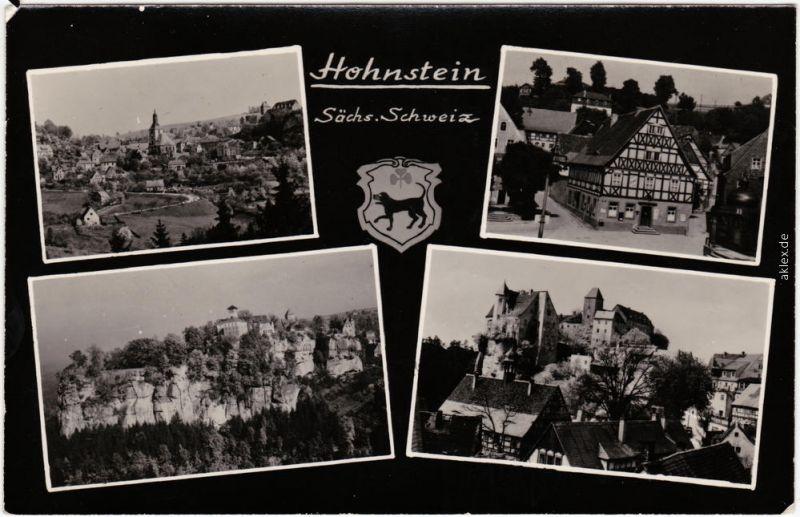 Hohnstein (Sächs. Schweiz) 4 Bild Sächs, Schweiz 1959