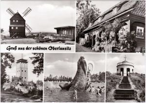 Großschönau   Waldstrandbad, Herrnhut, Neugersdorf, Waltersdorf  1983