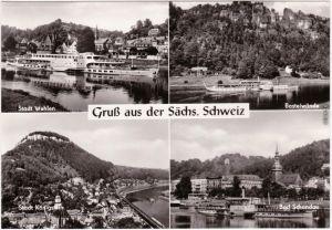 Bad Schandau 4 Bild: Sächsische Schweiz: Weiße Flotte 1974