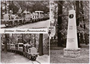 Görlitz Zgorzelec Oldtimer-Pioniereisenbahn - Park der Thälmannpioniere 1977