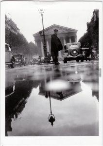 Paris Paris sous la pluie 1935/1991 cPA Ansichtskarte