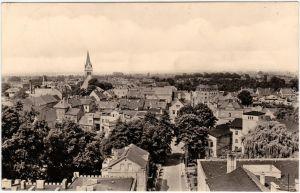 Bad Liebenwerda Panorama über den Dächern Foto Ansichtskarte  1963