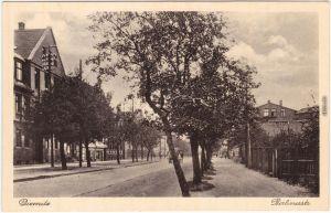 Ansichtskarte Diemitz Halle (Saale) Partie in der Berliner Straße 1914
