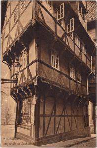 Hildesheim Umgestülpter Zuckerhut Ansichtskarte  1913