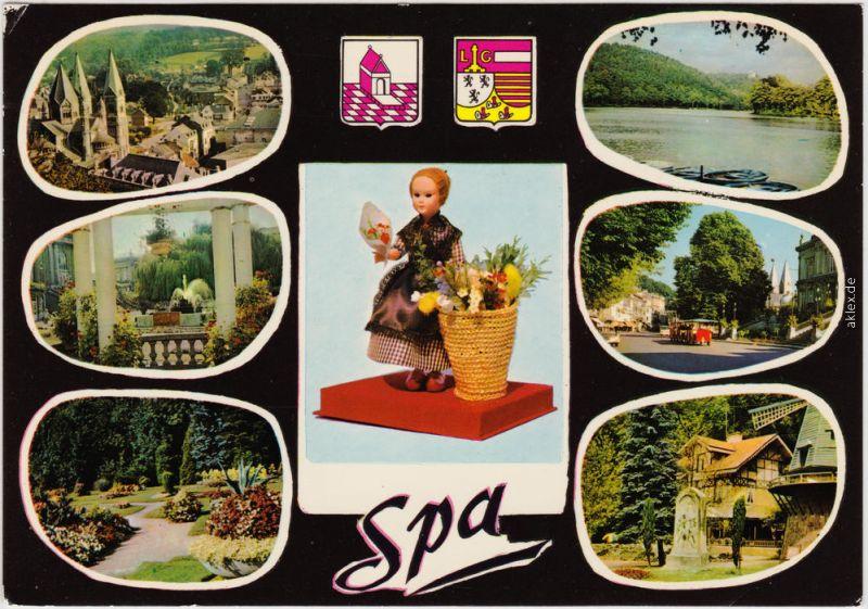 Spa (Stadt) Spa (kêr) (Spå / Spâ) Mehrbild mit Puppe 1985