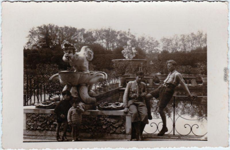 Florenz Firenze Boboli Garten 1930 Privatfoto