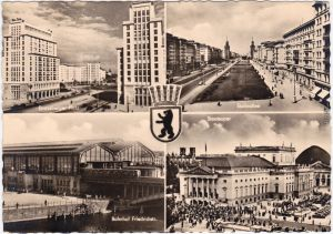 Berlin 4B: Bahnhof Friedrichstraße, Oper, Strausberger Platz Stalinallee 1957