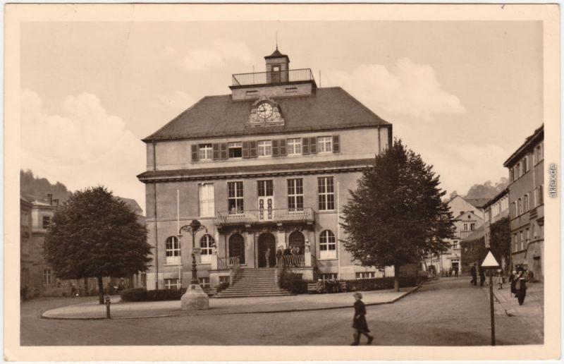 Glashütte Erzgebirge Partie  Fachschule für Feinmechanik und Uhrenkunde 1958