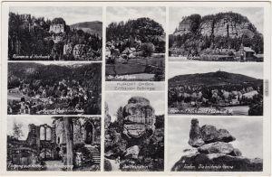 Oybin Oybin, Hain, Hochwald, Ruine, Töpfer, Kelchstein 1940