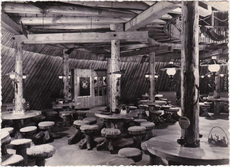Foto Ansichtskarte Sosa (Erzgebirge)-Eibenstock Konsum Gaststätte Meiler 1965