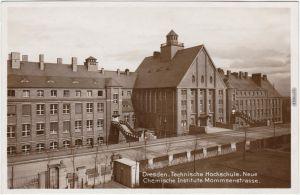 Südvorstadt Dresden Neue Ch Institute Mommsenstraße Technische Universität 1931