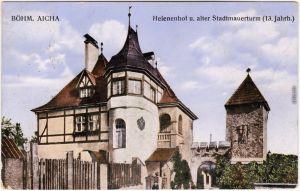 Böhmisch Aicha  Sudeten  Český Dub Helenenhof  b Reichenberg Liberec  1915