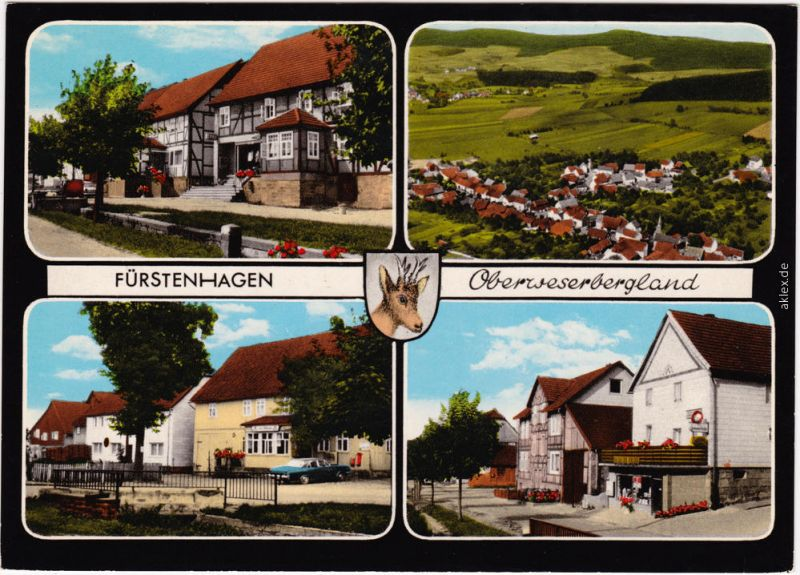 Fürstenhagen-Uslar Gaststätten/Hotels und Panorama 1978