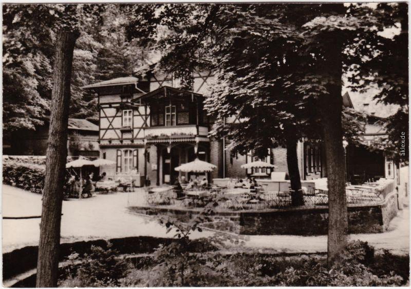 Rabenau Rabenauer Mühle Foto Ansichtskarte 1966