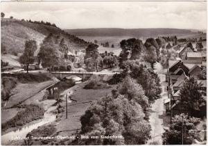 Trautenstein Oberharz am Brocken Blick vom Kinderheim, Panorama 1967