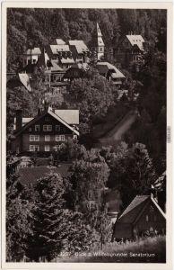 Wölfelsgrund Międzygórze Sanatorium  - Wölfelsgrund b Glatz Klodzko  1932