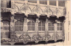 Braunschweig Haus Langestraße 9 erbaut 1536, Magazin 1912