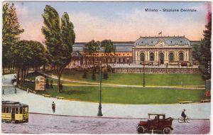 Mailand Milano Stazione Centrale 1913