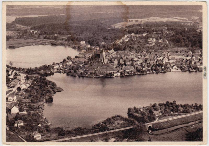 Mölln (Schleswig-Holstein) Fliegeraufnahme - Luftbild Lauenburg 1932