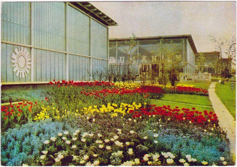 Erfurt Internationale Gartenbauausstellung der DDR (IGA) 1964