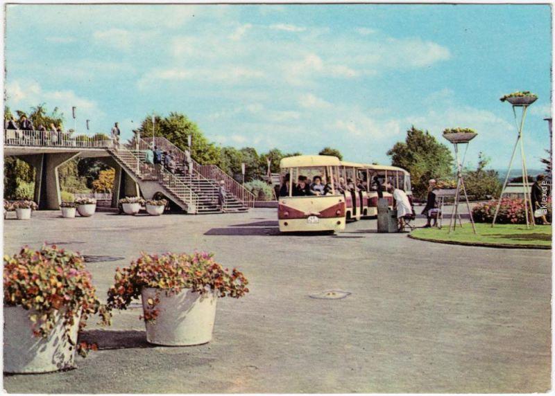 Erfurt Internationale Gartenbauausstellung der DDR (IGA) - IGA-Express 1968