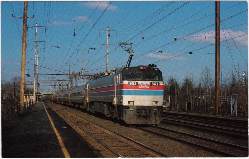 Zug Motive, Train 173, Amtrak's