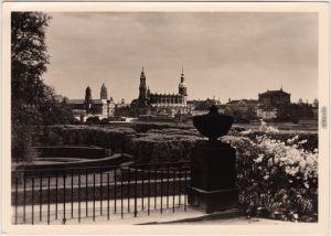 Altstadt Dresden Hofkirche Dresden , vor der Zerstörung 1945 1965