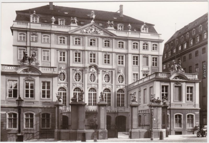 Innere Altstadt-Dresden Cosel-Palais 1945/1981