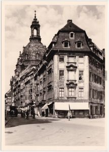 Innere Altstadt-Dresden Dresden, Frauenkirche vor der Zerstörung 1945/1982