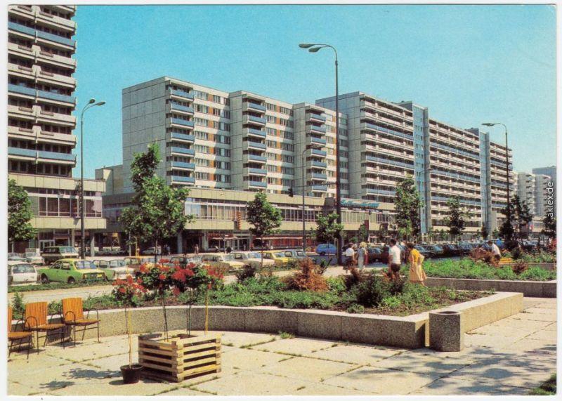 Ansichtskarte Mitte Berlin Leipziger Straße 1981