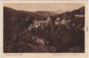 Görbersdorf in Schlesien Sokołowsko Dr. Brehmers Sanatorium b Waldenburg 1924