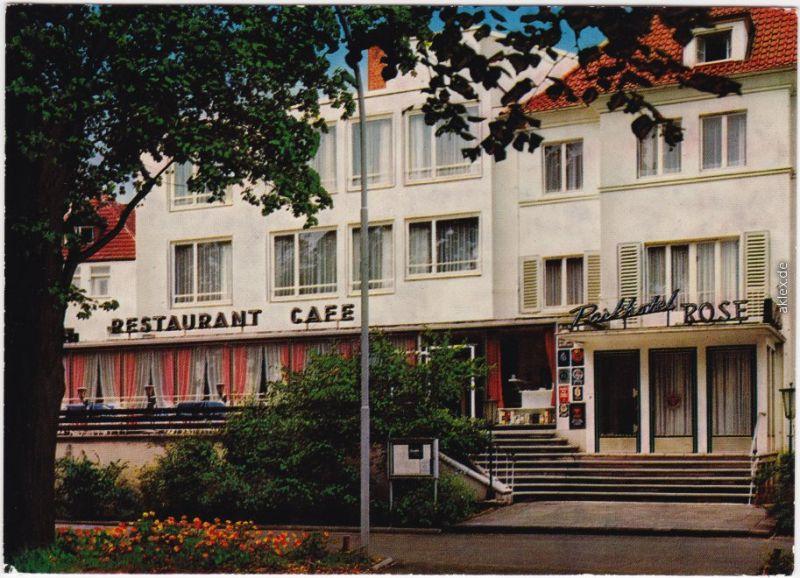 Ansichtskarte Bad Hersfeld Parkhotel Rose Zu Gast Bei Lukullus 1978