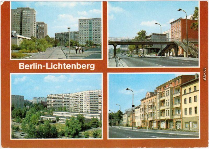 Lichtenberg Berlin Neubaugebiet (Stadtteil) 1984