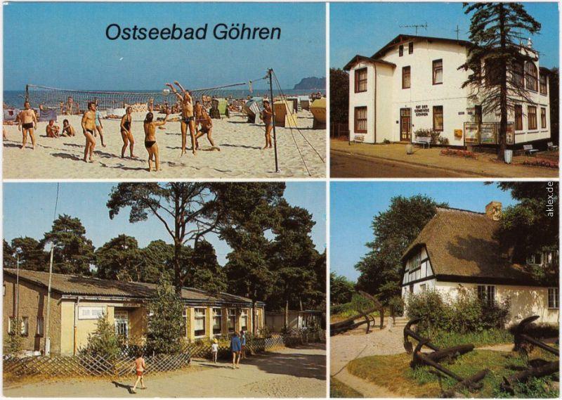 Göhren (Rügen) Nordperd, Rat der Gemeinde, HO-Gaststätte