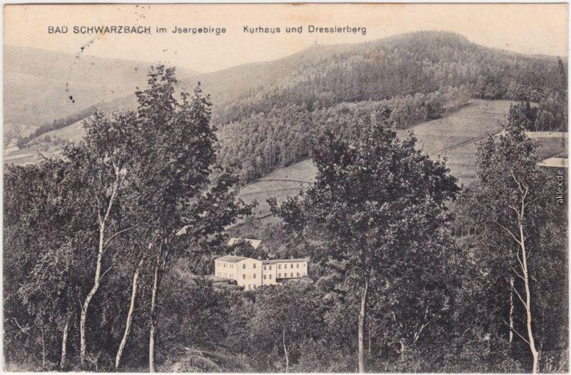 Bad Schwarzbach Bad Flinsberg Czerniawa-Zdrój Świeradów-Zdrój Isergebirge 1924