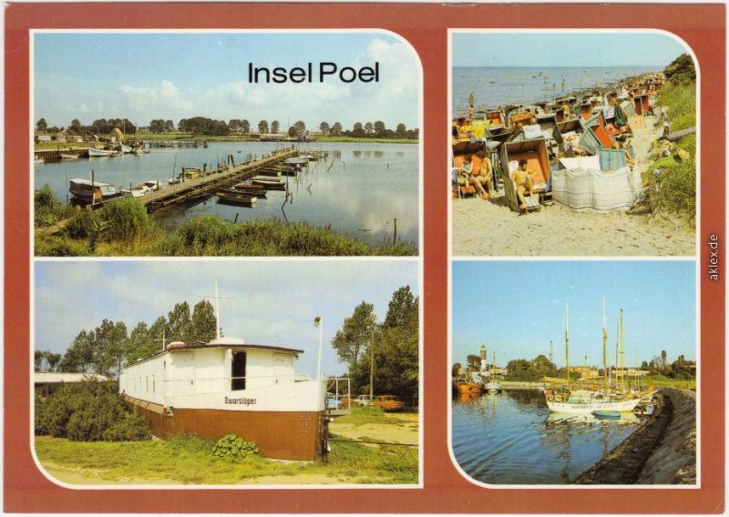 Poel Hafen  Kirchendorf, Schwarzer Busch  Schwarzer Busch - Dwarslöper 1987
