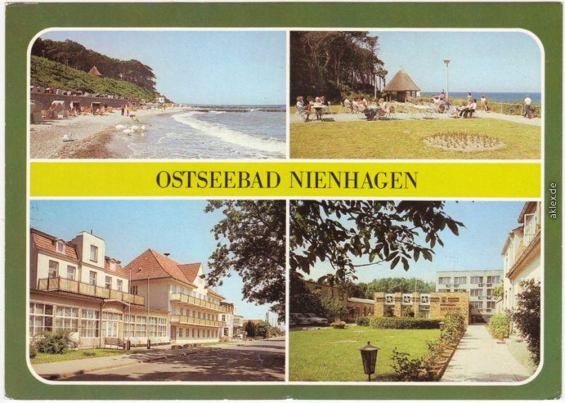 Nienhagen Strand  des Rates des Bezirkes, FDGB-Erholungsheim