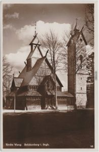 Brückenberg-Krummhübel Karpacz Górny Karpacz Stabkirche Wang - 1932