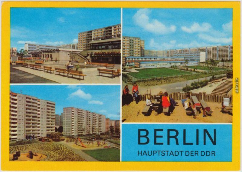 Ansichtskarte Lichtenberg Berlin Berlin - Lichtenberg Neubaugebiet 1982