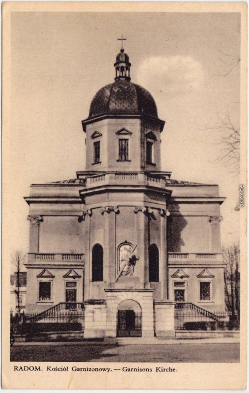 Radom Radom Kosciol Garnizonowy Masovien Ansichtskarte  1939