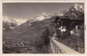 Foto Ansichtskarte Meran Merano Passeggiata Tappeiner 1929