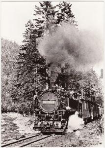Kipsdorf-Altenberg (Erzgebirge) Schmalspurbahn Freital-Hainsberg Kipsdorf 1983