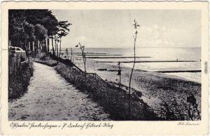 Henkenhagen Ustronie Morskie Promenade  Strand -  Kołobrzeg (Kolberg) 1937