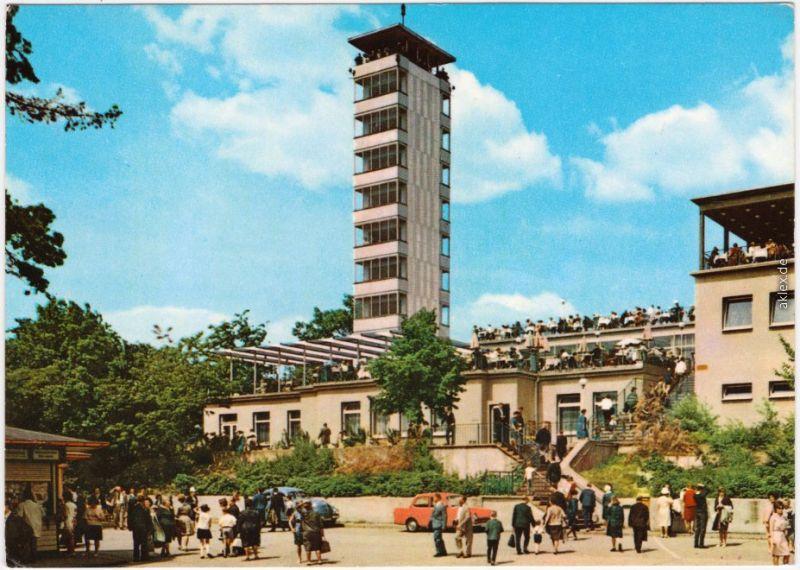 Ansichtskarte Köpenick Berlin Müggelturm 1974