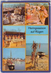 Rügen Heringssaison auf Rügen Saßnitz Stralsund Bergen 1987