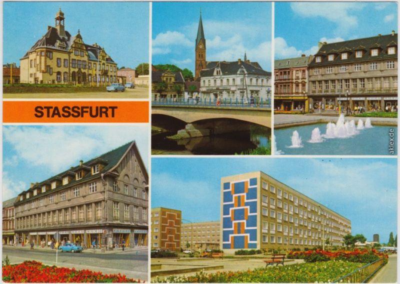 Staßfurt Schwimmbad staßfurt stassfurt post bodebrücke karl marx straße leninring