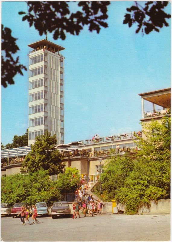 Ansichtskarte  Köpenick Berlin Müggelturm 1982